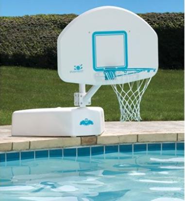 Dunnrite Splash and Shoot Swimming Basketball hoop for pool
