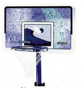 lifetime 1301 pool side basketball system