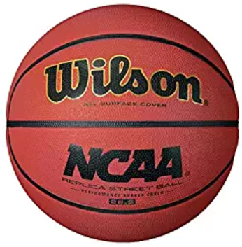 WILSON NCAA Replica Rubber Junior Basketball
