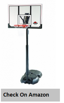 Lifetime 51544 Front Court Portable Basketball System,