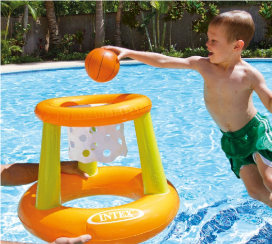 Intex Floating Hoops Basketball