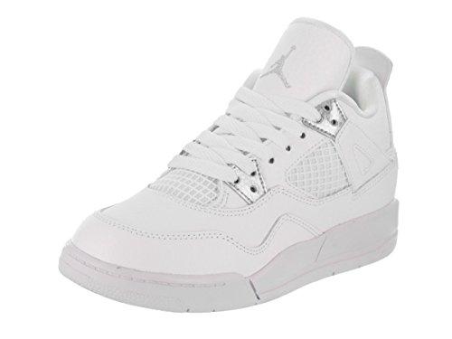 Jordan Nike Kids 4 Retro BP Basketball Athletic Shoes