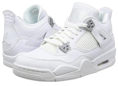 NikeAir Jordan Retro 4 Basketball Shoes (Kids)