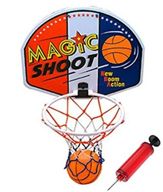 Liberty Imports 16 inches magic shot mini basketball hoop set