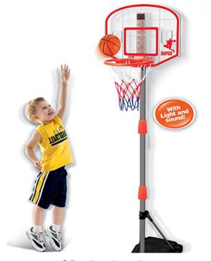Liberty Imports Junior Electronic Basketball Hoop