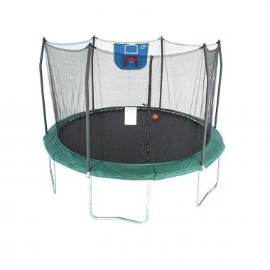 Skywalker Trampolines 12-Foot Jump N' Dunk Trampoline Basketball Hoop